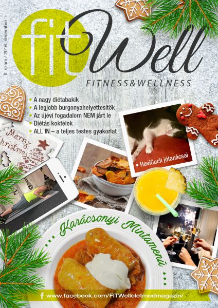 FITWell-életmód magazin (DECEMBER) - Ebook